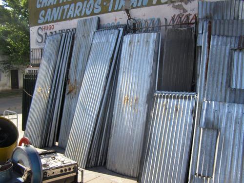 servicio de compra venta de chapas de zinc acanaladas trap.