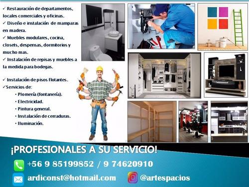 servicio de construcción y restauración
