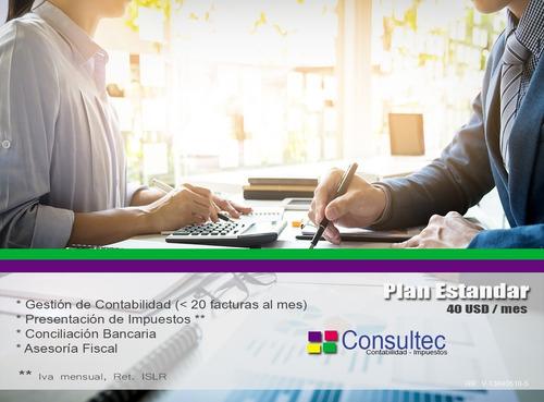 servicio de contabilidad externa mensual