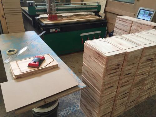 servicio de corte en router cnc fresa madera pvc polifan