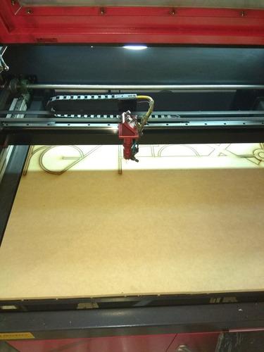servicio de corte + grabado laser en mdf y acrílico.