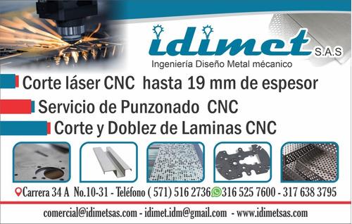 servicio de corte laser hasta 19 mm de espesor
