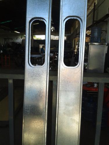 servicio de cortes y dobles de láminas de hierro