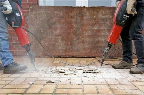 servicio de demolición de pisos
