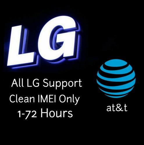 servicio de desbloqueo de fábrica código at&t para lg g6 g7