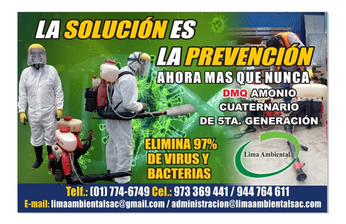 servicio de desinfeccion