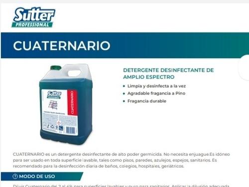 servicio de desinfeccion amonio cuaternario