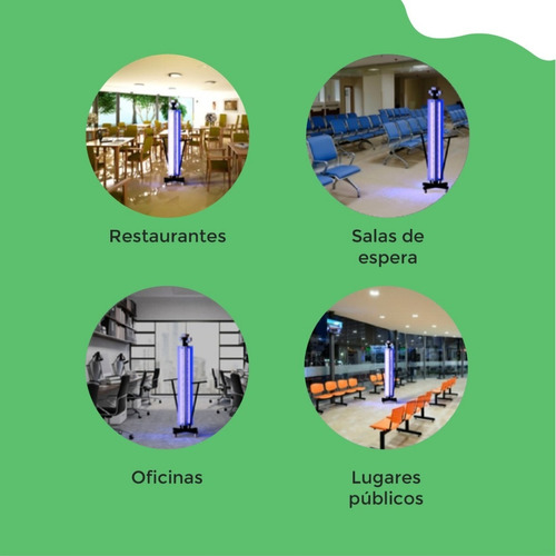 servicio de desinfección con luz uv ozono y liquido guardian