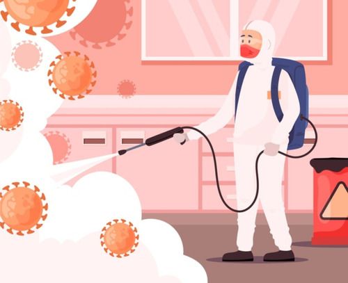 servicio de desinfección de virus y bacterias