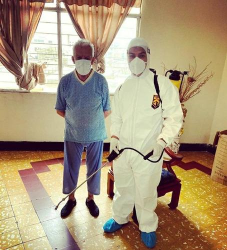servicio de desinfección profesional