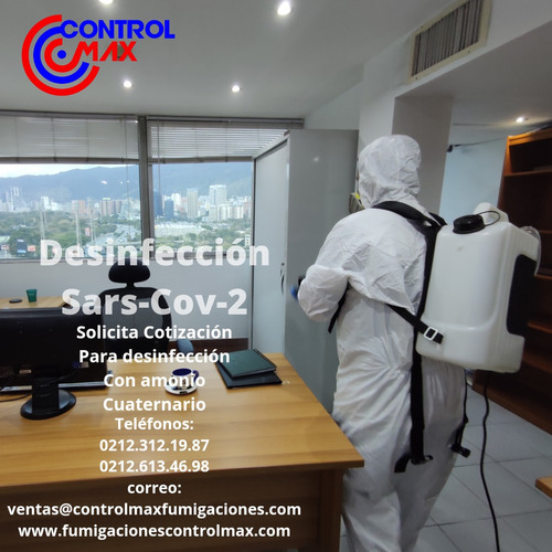 servicio de desinfeccion sars-cov-2 caracas