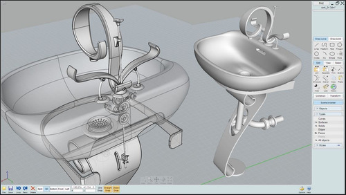 servicio de diseño 3d