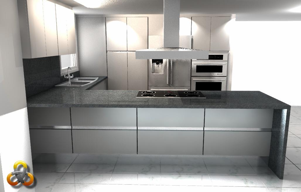 Servicio De Diseño De Cocinas, Baños, Closet, Interiores - en ...