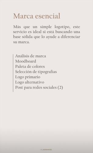servicio de diseño gráfico para marcas emprendedores