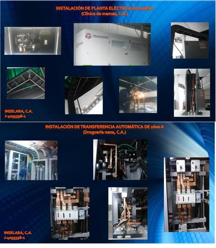 servicio de electricidad, e ingenieria a nivel industrial