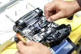 servicio de empalme de fibra optica