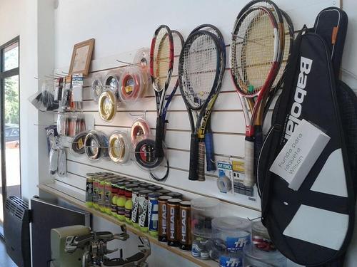 servicio de encordados raquetas en storetennis de caballito