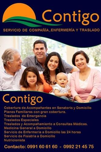 servicio de enfermería en paraguay, compañía en sanatorio