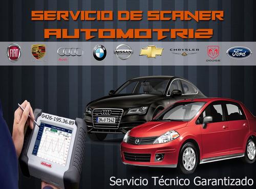 servicio de escaner automotriz