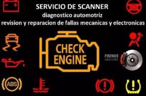 servicio de escáner reparación de fallas.