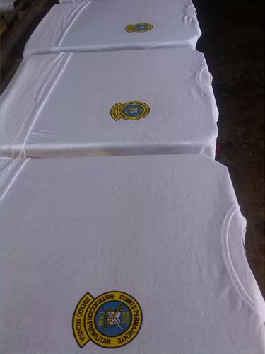 servicio de estampado en serigrafía textil