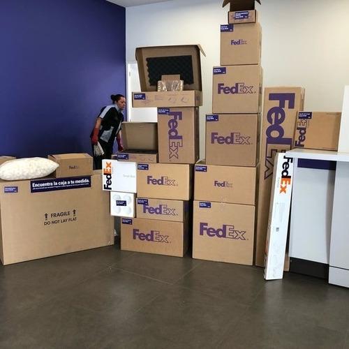 servicio de exportación via courrier fedex excelente tarifa