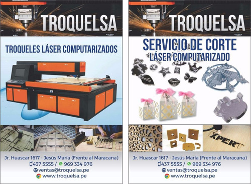 servicio de fabricación automatizada de troqueles