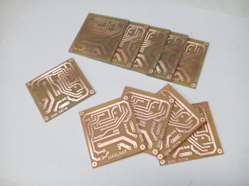 servicio de fabricación pcb 1 y 2 capas