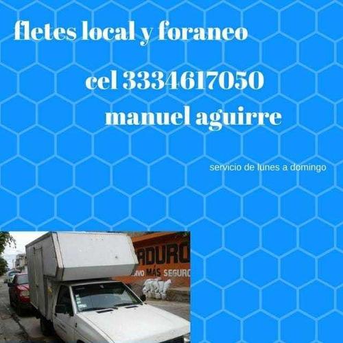 servicio de fletes y mudanzas local y foráneo