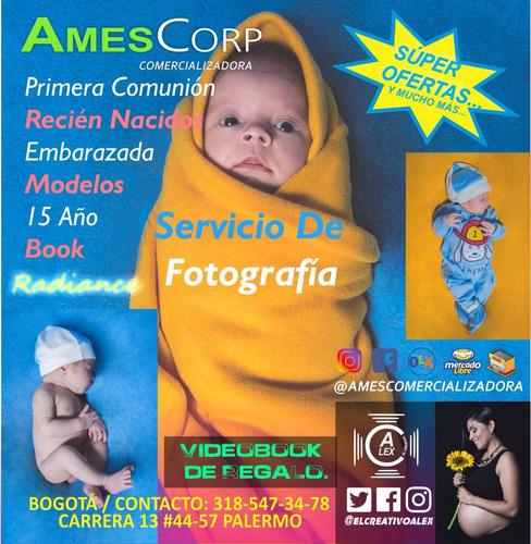 servicio de fotografia embarazada,recien nacido,fiestas