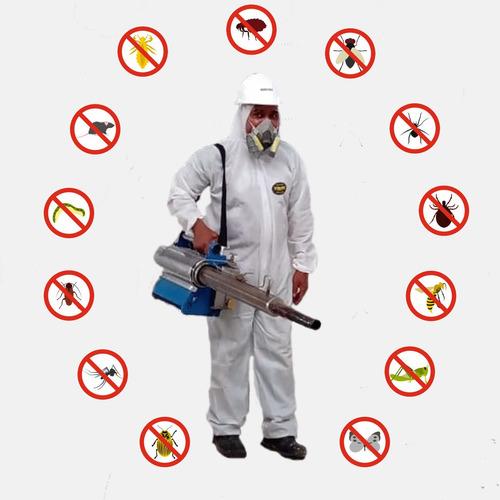 servicio de fumigación, desinfección y desratización