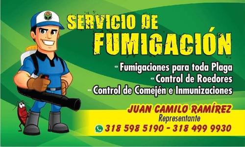 servicio de fumigaciones