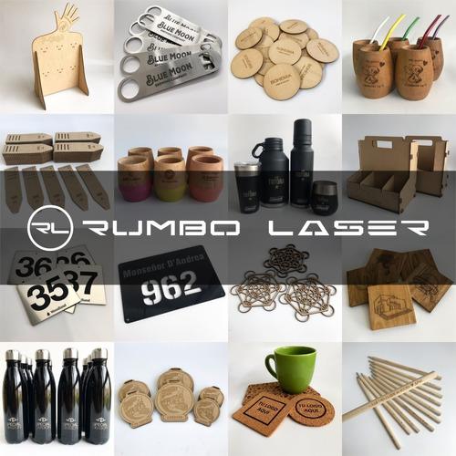 servicio de grabado y corte laser - diversos materiales
