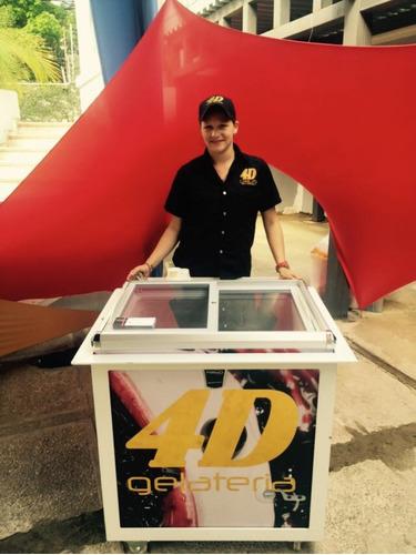 servicio de helados 4d para toda ocasion