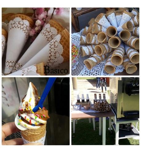 servicio de helados soft