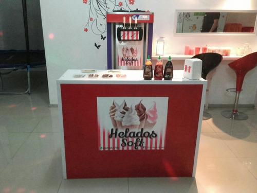 servicio de helados soft para fiestas y eventos