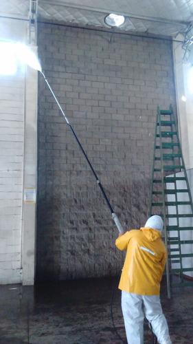 servicio de hidrolavado domiciliario e industrial
