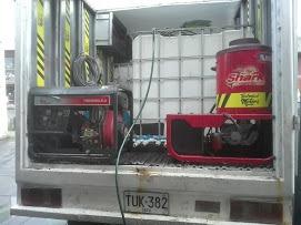 servicio de hidrolavado en sitio,equipo de lavado alquiler