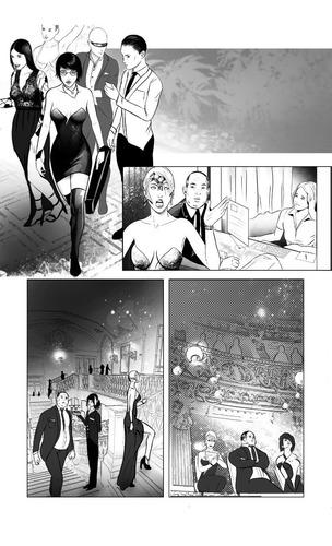 servicio de ilustracion, color y dibujo de páginas de cómic