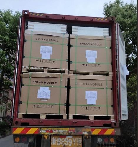 servicio de importación de paneles solares