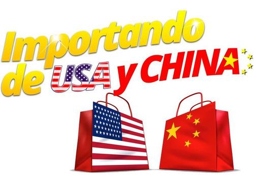 servicio de importacion desde usa china ropa repuestos celus