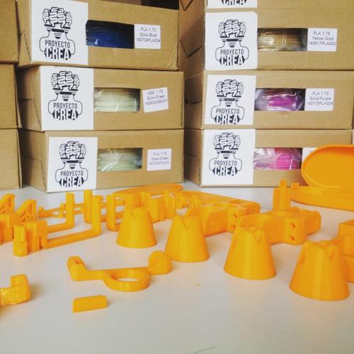 servicio de impresión 3d fdm (pla, abs, hips, madera, flex)