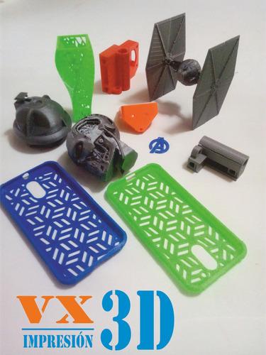 servicio de impresión 3d para la industria - hogar -  hobby.
