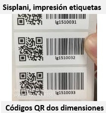 servicio de impresión de etiquetas código de barras