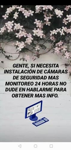 servicio de instalación de cámaras de seguridad y monitoreo