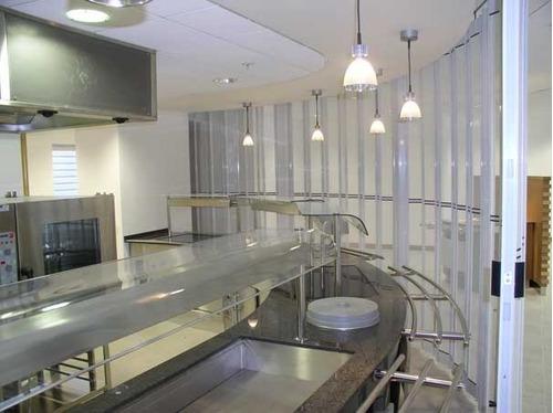 servicio de instalación de cortinas pvc industrial - lima