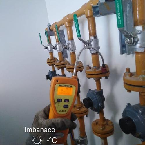 servicio de instalación de redes de gas domiciliario
