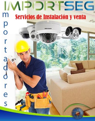 servicio de instalación y venta  de cámaras de seguridad