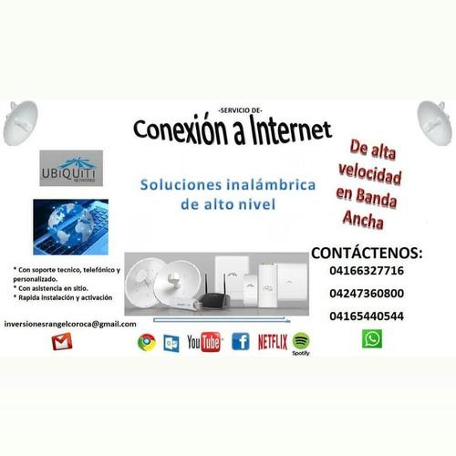 servicio de internet inalámbrico, residencial y empresaria