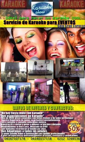 servicio de karaoke profesional para todo tipo de eventos